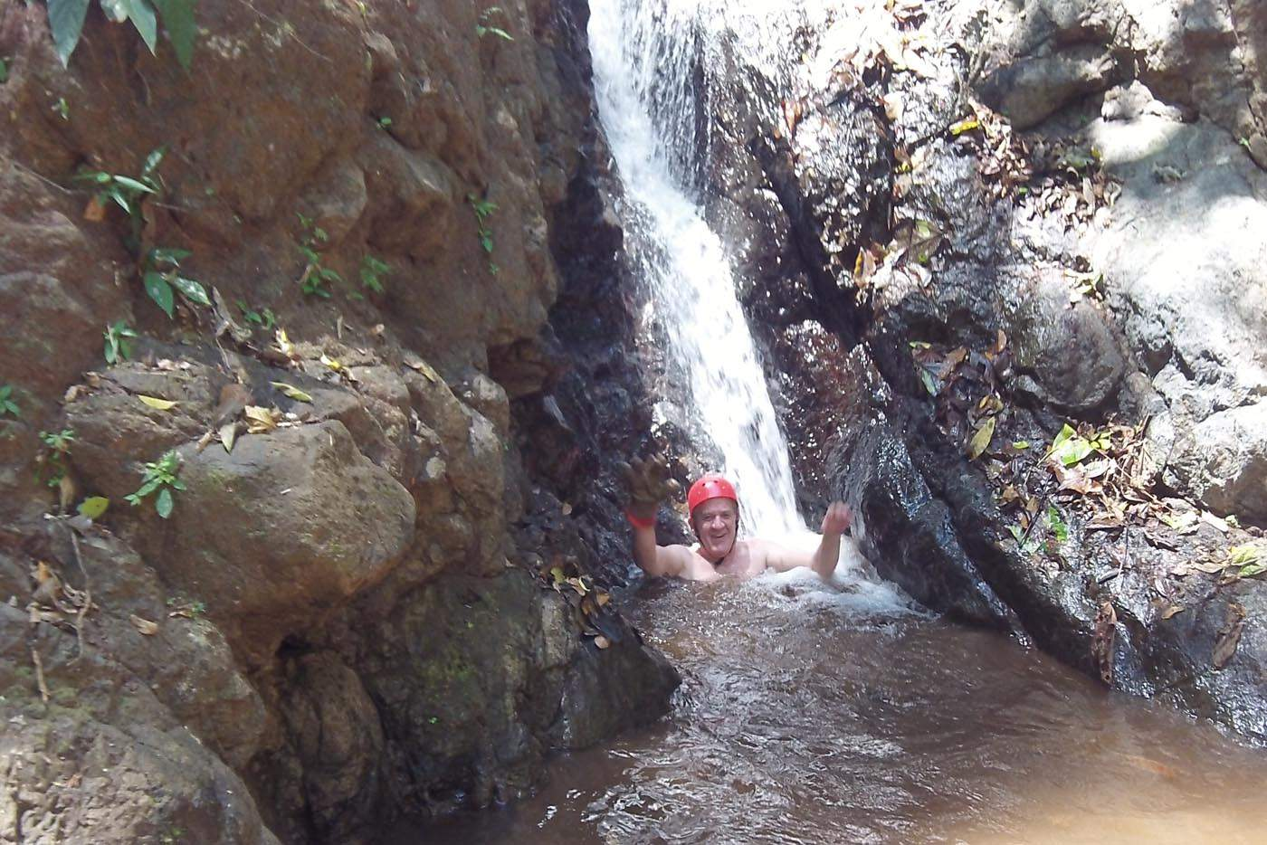 jaco beach adventure waterfalls