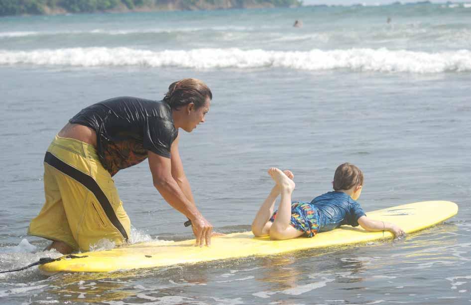Surf Shool Jaco Beach