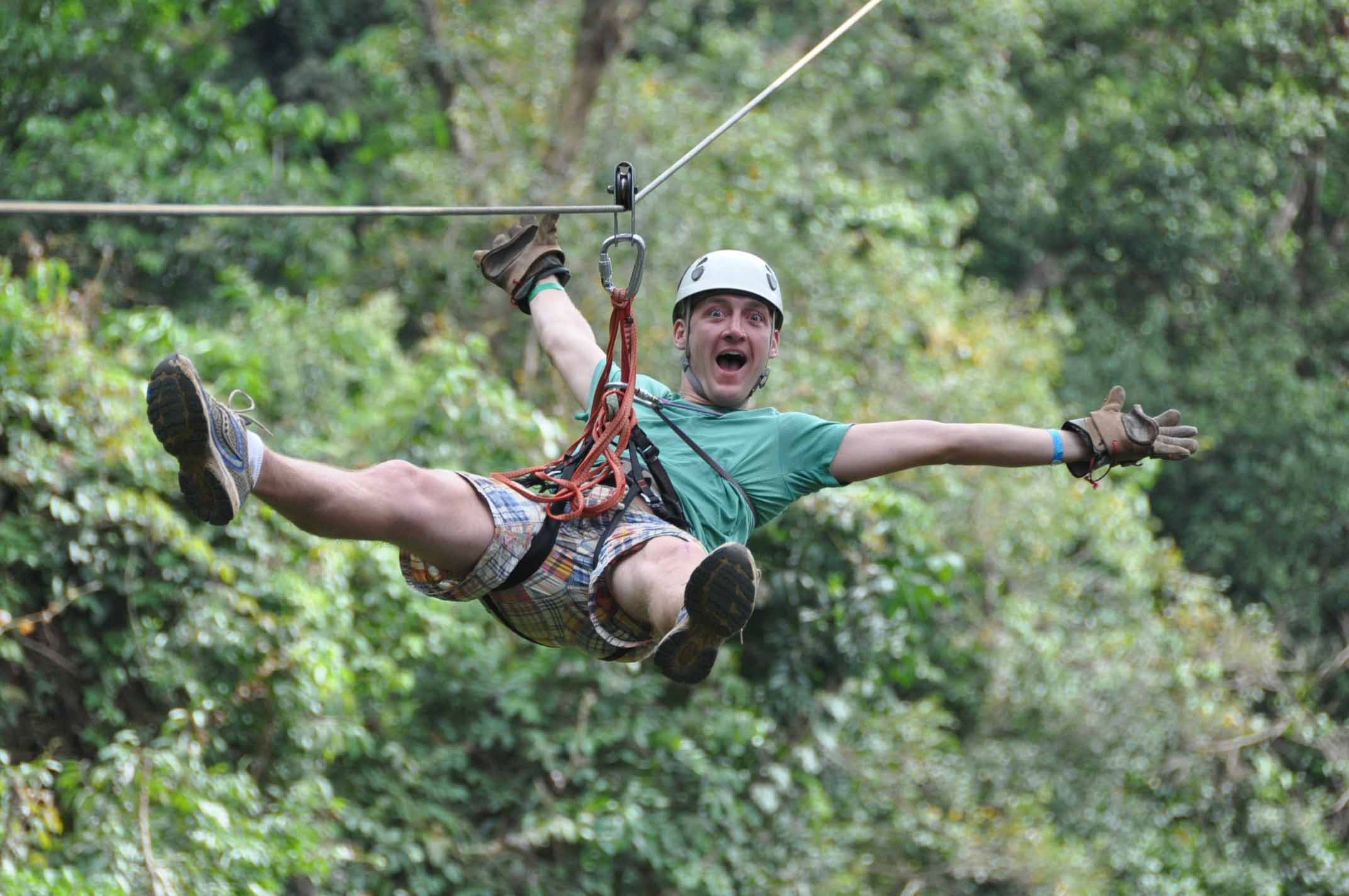 Zip Line Canopy Adventure Tour