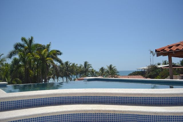 Jaco Beach Costa Rica Roof Top Ocean View