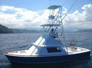 31 Bertram Fishing Boat Costa Rica