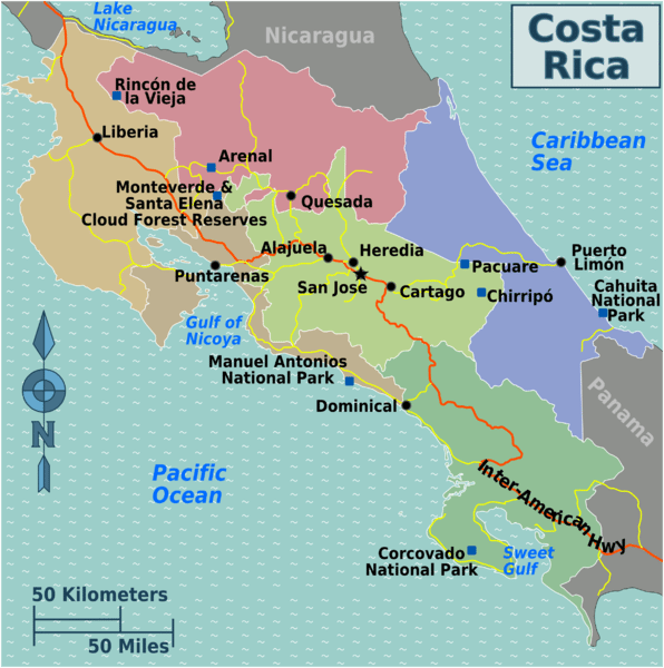 Costa Rica Tourist Info | Information for travelers