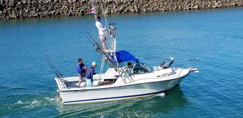 Quepo Fishing Charter 24FT