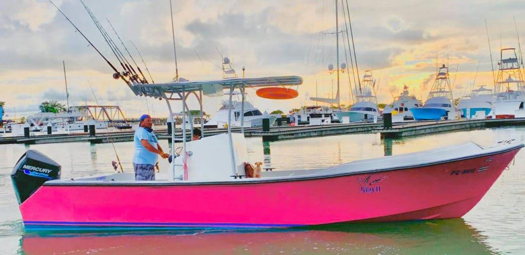 Quepo Fishing Charter 30f